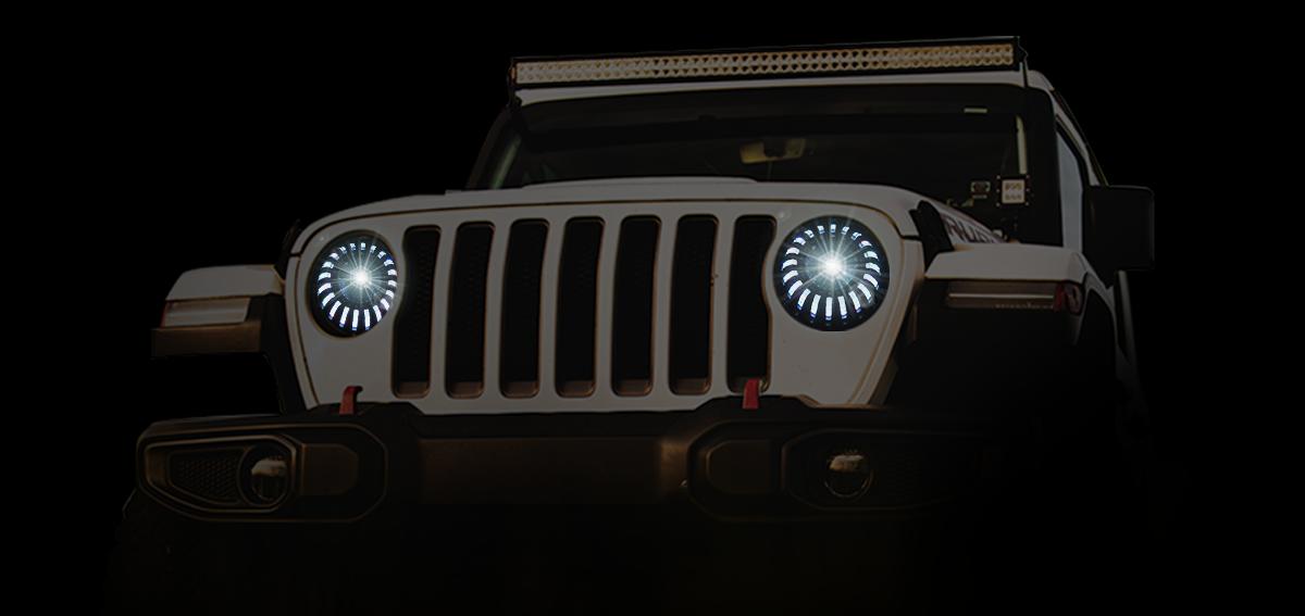 projector type headlight