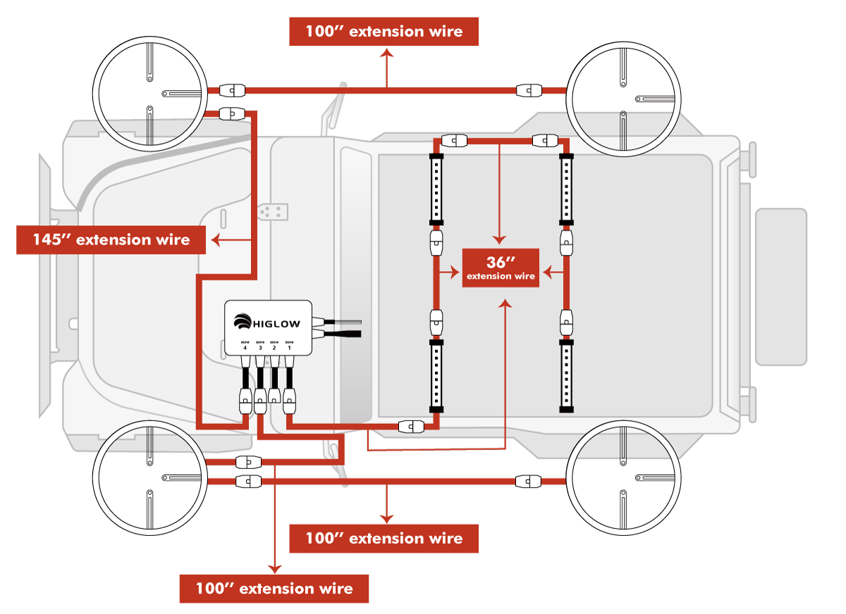 Wheel light car interior light install diagram